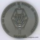 Brigade des Transmissions et d'Appui au commandement Lunéville Médaille de table