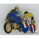 Pin's Gend Tour de France 1991 Motard - Maillot jaune