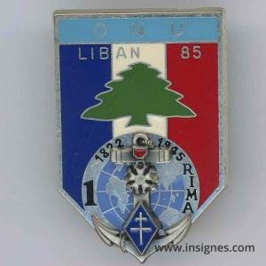1° RIMA ONU LIBAN 85 420 DSL