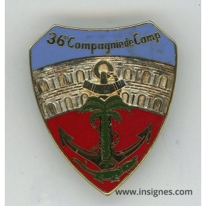 36° Compagnie de Camp Nimes