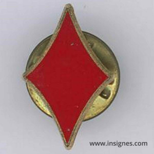 42° Régiment d'Infanterie Pin's As de carreau