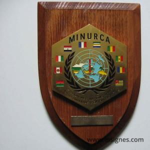 MINURCA RCA Plaque murale