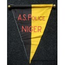 AS Police NIGER Fanion Tissu