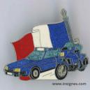 Gendarmerie Pin's Voyages officiels Translucide