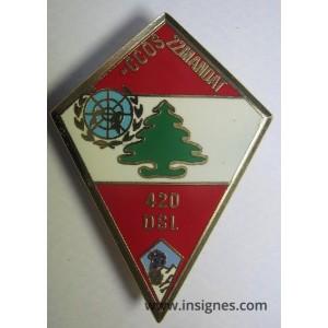 420° DSL CCOS 22 Mandat