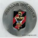 Brigade du Génie Médaille de table Strasbourg