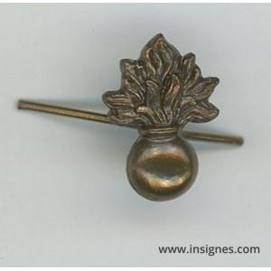 Grenade pour citation de la médaille de la Gendarmerie