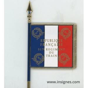 517° Régiment du Train Drapeau émaillé