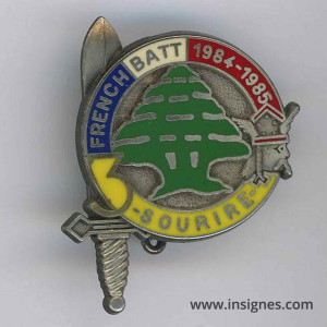 92° Régiment d'Infanterie 420° DSL French Batt 1984-1985