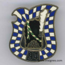 94° Régiment d'Infanterie plumet blanc