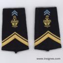 Tissu fourreaux Transmissions Sergent ADL