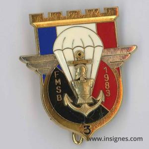 17° RGP Liban FSMB 3 Compagnie 1983