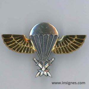 Brevet Parachutiste SENEGAL (ailes dorées)