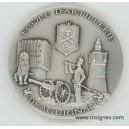 Ecole d'Artillerie Médaille de table 65 mm