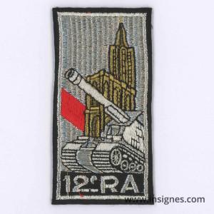 12° Régiment d'Artillerie Tissu