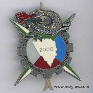 SFOR 10e Mandat RCS 2000
