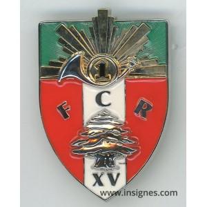 1° Régiment de Chasseurs FCR XV Liban DAMAN