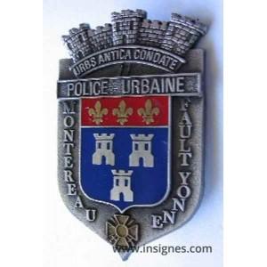 Montereau Fault Yonne - Police Urbaine