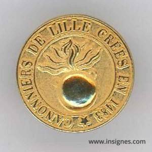 Canonnniers sédentaires de Lille Pin's