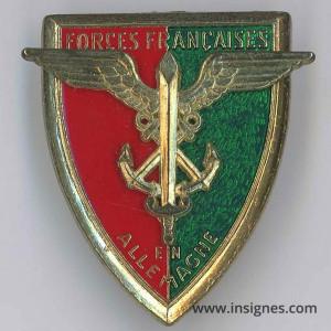 Forces Francaises en Allemagne ( FFA)