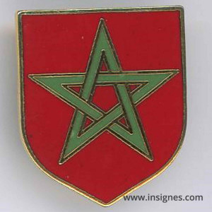 Écu 12° Légion de Gendarmerie au Maroc