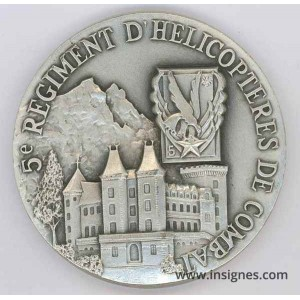 5° RHC Médaille de table