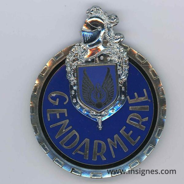 plaque motard gendarmerie de l 39 air email grand feu. Black Bedroom Furniture Sets. Home Design Ideas