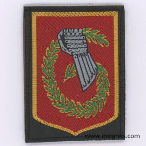 6° Division Légère Blindée NIMES Tissu