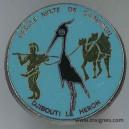 DJIBOUTI cercle mixte de garnison Pin's