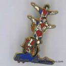 Pin's Garde Républicaine 2 acrobates