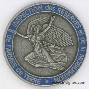 Inspection des réserves et de la Mobilisation Médaille 45 mm