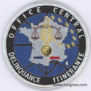 Office Central Délinquance itinérante Tissu velcro