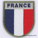 FRANCE Tissu Patch