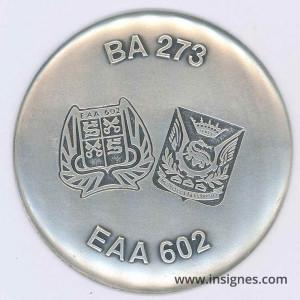 Base Aérienne 273 ROMORANTIN Fond de coupelle 65 mm