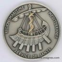 Service de Santé Région Maritime Méditerranée Médaille de table 70 mm