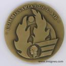 Commissaire de l'Air Médaille de table 80 mm