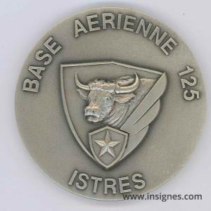 Base Aérienne 125 ISTRES Médaille de table 65 mm