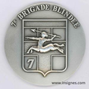 7° Brigade Blindée Fond de coupelle 70 mm