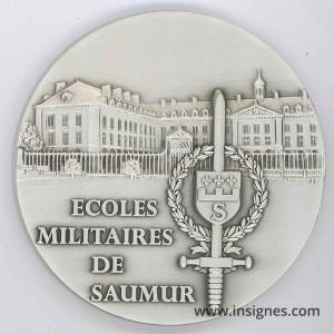 Ecoles Militaires de SAUMUR Médaille de table 68 mm