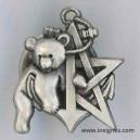 RICM 5° Escadron Insigne de récompense ourson argenté année 2005