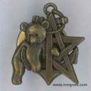 RICM 5° Escadron Insigne de récompense ourson bronze année 2005
