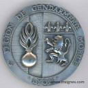 5° Légion de la Gendarmerie Mobile LYON Médaille 65 mm