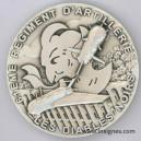 61° Régiment d'Artillerie (drone) Médaille de table Diamètre 70 mm