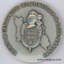 Légion de Gendarmerie Départementale de Basse Normandie Médaille de table 70 mm