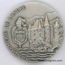 Gendarmerie de l'INDRE Médaille 65 mm