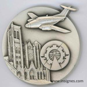 Base Aérienne 702 AVORD GERMAS Médaille de table 65 mm