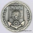 LION Batiment Ecole Fond de coupelle Marine 65 mm