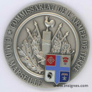 Commissariat Armée de Terre CMD Marseille Fond de coupelle