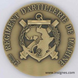 2° RAMA Médaille de table 70 mm (bronze)