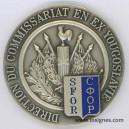 Direction du Commissariat en Ex Yougoslavie SFOR Médaille de table 70 mm